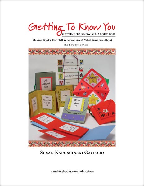 Download Getting To Know You to your computer and enjoy four fun projects